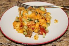 The Monogrammed Mom: *Skinnytaste* Cheeseburger Casserole {Gluten-free Version}
