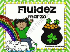 March Fluency in Spanish from Angelica Sandoval on TeachersNotebook.com -  (28 pages)  - Have students practice vocabulary and fluency while reading these fun pages. All fluency pages are differentiated for all your students. Print these out for each student and have students keep them inside their fluency folder all year long.