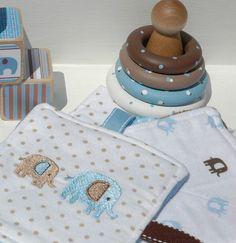 Deluxe Baby Boy Gift Set Elephant Theme von HouseMountainNatural, $35.00