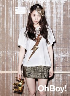 Krystal ★ f(x) - Oh Boy! Magazine Vol.30