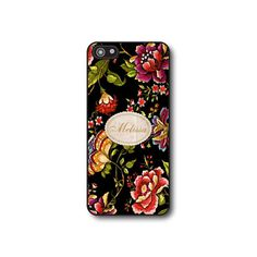 Personalized iphone 4 case  Floral iphone case by CaseHive on Etsy, $16.99