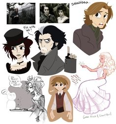 Sweeney Todd sketches for fun Sweeney sketches for fun Sweeney Todd, Tim Burton, Minnie Mouse, Disney Characters, Fictional Characters, Goth, Sketches, Fan Art, Anime
