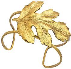 Allison Daniel Maple Leaf Paralell Cuff on shopstyle.com