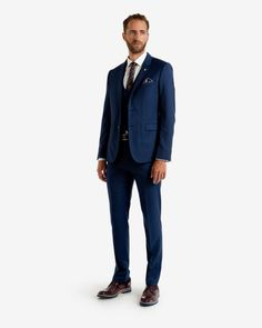 Wool suit jacket - Navy   Suits   Ted Baker
