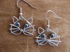 Google Image Result for http://img0-ec.etsystatic.com/000/0/5164712/il_fullxfull.168583004.jpg (earrings,cat earrings,silver earrings,wire earrings)