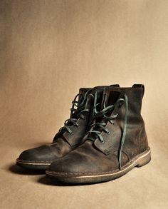 thehoboken:evanperigo: Clark Desert Boots