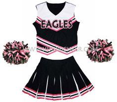 Design custom cheerleading uniforms for your squad. Best cheerleading uniform deals that will fit your budget. Save upto on custom cheerleading uniforms. Cheer Outfits, Outfits 2016, Dance Outfits, Cool Outfits, Fashion Outfits, Cheer Clothes, Fashionable Outfits, Custom Cheer Uniforms, Cheerleading Uniforms