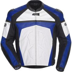 Special Offers - Cortech Adrenaline Mens Leather On-Road Racing Motorcycle Jacket  White/Blue / Medium - In stock & Free Shipping. You can save more money! Check It (October 26 2016 at 07:12PM) >> http://motorcyclejacketusa.net/cortech-adrenaline-mens-leather-on-road-racing-motorcycle-jacket-whiteblue-medium/