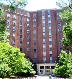 Hinton James Dormitory.  UNC.-Lynne spent freshman year here