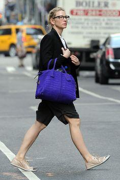 A preppie Cate Blanchett