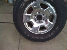 Ford Factory Wheels and Tires F-150 Pickup Chrome Rims 2005 6 Lug