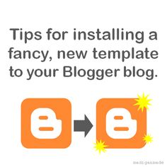 tips for installing a new template