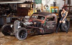 Carros antigos: Rat Rods