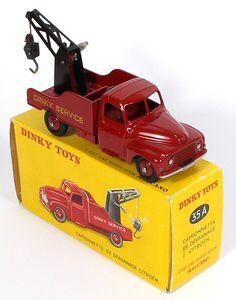 French Dinky 35A Citroen Breakdown truck Pub Vintage, Vintage Toys, 1980 Toys, Microcar, Corgi Toys, Toy Trucks, Tin Toys, Retro Toys, Classic Toys
