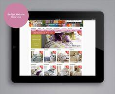 Bedeckhome.com website Live In The Now, Website, Polaroid Film, Design