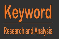 Let us analyze and #research the best for your #website with the help of some of the free #Google keyword analysis tools.