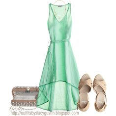 """""""minty summer day"""" by stacy-gustin on Polyvore"""