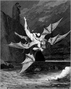 La Divine Comédie, de Dante Alighieri, illustrée par Gustave Doré (1861)