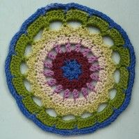 Crochet Mandala Wheel made by Heather, Dublin, Ireland for yarndale.co.uk Crochet Mandala, Dublin Ireland, Wheels, Blanket, Create, Inspiration, Tricot, Mandalas, Fabrics