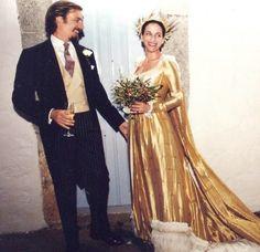 Princess Olga Isabelle of Savoy-Aosta, Duchess of Apulia with husband Prince Aimone of Savoy, Duke of Apulia