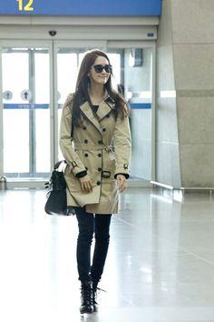 SNSD Yoona Airport Fashion