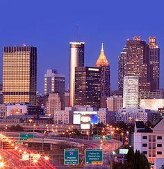 Atlanta, GA ♥ I would LOVE to celebrate my birthday in Atlanta this year.