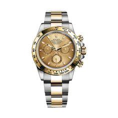 #Rolex Cosmograph Daytona Gold & Stainless Steel #Watch