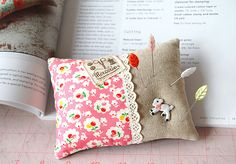Pink Penguin: Zakka Style Sew-Along Week 3 - Zakka Pincushion