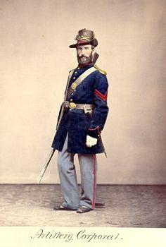 American Civil War Enlisted Uniforms - Artillery Corporal
