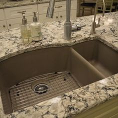 how to put tile in bathroom blanco silgranit ii truffle undermount sink cambria 25472