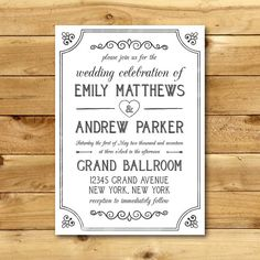 60 best wedding invitation templates images on pinterest wedding wedding invitation template printable wedding invitation editable wedding template instant download hyacinth collection stopboris Gallery