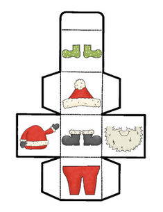 """Suitin' Up Santa"" is a fun game for children to play when their Christmas excitement is building! Students will take turns rolling the Santa cube to help Santa get ready for his big day. You can use this as a fun Christmas center, a holiday party station, a classroom incentive, or get creative and use it in another way. Your children will be sure to giggle at Santa's undies and have a great time playing over and over again! Enjoy!"