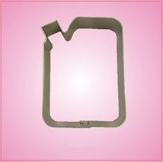 Gas Can Cookie Cutter