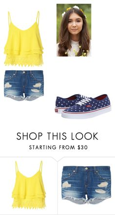 """""""Untitled #148"""" by pufferfishgal on Polyvore featuring Glamorous, rag & bone, Vans, women's clothing, women, female, woman, misses and juniors"""