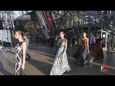 J AUTUMN Fashion Show 2014: The symbol of the PARIS, the Eiffel Tower, was transformed into a breathtaking catwalk, watch it, on FASHION CHANNEL!!!