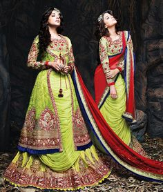 #LOHRI OFFER : Get Rs. 99 Extra Coupon During 12-13 Jan 2015. Pay Online & Get Extra 5% OFF.  Buy Online Designer #LehengaCholi at best price.  Click to Shop:- http://www.shoppers99.com/all_sales/designer_lehenga_choli_collection