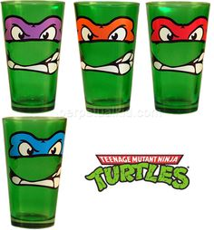 WHAT! I love these! Anyone who says Michelangelo and Raphael are not the best ninja turtles are dummys.