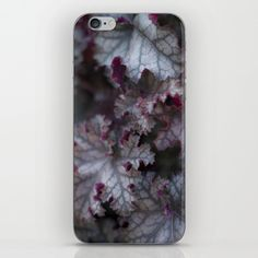 Purple Leaves iPhone & iPod Skin  from FloraInspiro SHOP http://shop.florainspiro.com photo by Emelie Ekborg