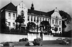 Colégio Visconde de Porto Seguro / Praca Roosevelt // Crédito: Divulgação Brazil, Past, City, Old Mansions, Viscount, Time Travel, Fotografia, Cities, City Drawing