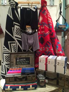 Great gift ideas for the special man in your life like these 2UNDR Mens Boxers #orangeville #giftsforhim #pearhome http://pearhome.ca/