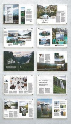 Page Layout Design, Graphisches Design, Graphic Design Layouts, Graphic Design Branding, Corporate Design, Magazine Page Layouts, Mise En Page Magazine, Magazine Layout Design, Editorial Design Magazine