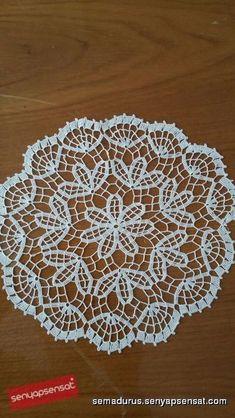 Lace Doily, Round Crochet Cotton Delicate Doily, Handmade C Crochet Lamp, Crochet Bedspread, Crochet Curtains, Crochet Tablecloth, Crochet Mandala, Filet Crochet, Crochet Motif, Lace Doilies, Crochet Doilies