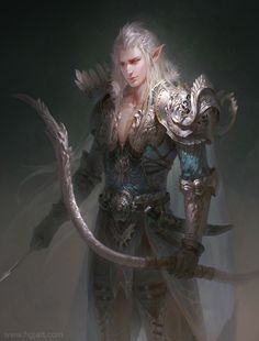 Light Elf (Norse) - Male: Elf/Female: Elven. Light Elves are immortal. The male and female are said to be very beautiful. They have very pale white skin, blond, silver, white or bronze hair, blue, gold, white, pink, violet, lime green, magenta or silver eyes. They have slim, tpointy ears. Home: Alfheim, their king is Freyr. When light elves interactive with humans they give them knowledge and magical powers. They are minor gods of nature and fertility. Light Elves are very skilled in…