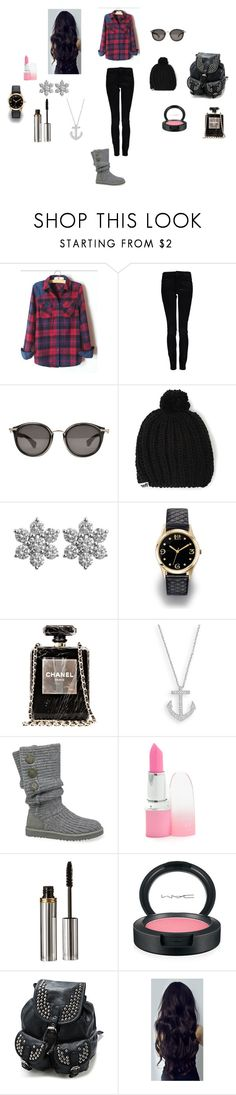 """""""Untitled #165"""" by madisonnetz ❤ liked on Polyvore featuring Calvin Klein, Moncler, Neff, Avon, Chanel, UGG Australia, La Bella Donna and MAC Cosmetics"""