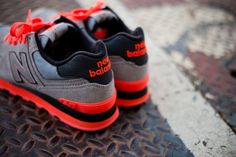 info for 8c91f 9a278 New Balance 574 Infrared. Shoes Nike Adidas ...