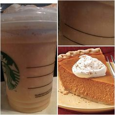 Try : *PUMPKIN PIE FRAPPUCCINO* !! Perfect for this time of year with summer coming to an end and fall about to begin!