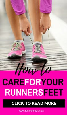 how to take care of your runners feet #runners #feet #DIYfootscrub