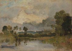 Joseph Mallord William Turner 'The Thames near Windsor', c.1807