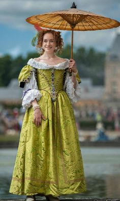 Image result for historical period costumes reproduction restoration jacobean 17th century gown