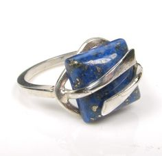 Another pretty Lapis Lazuli ring...